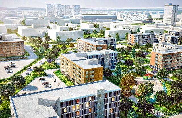 жилой комплекс район «Куб-А»