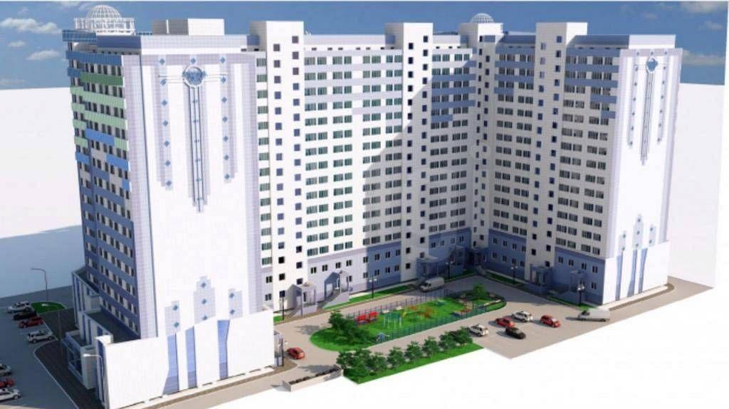 жилой комплекс по ул.Короленко, 25 (72 квартал)