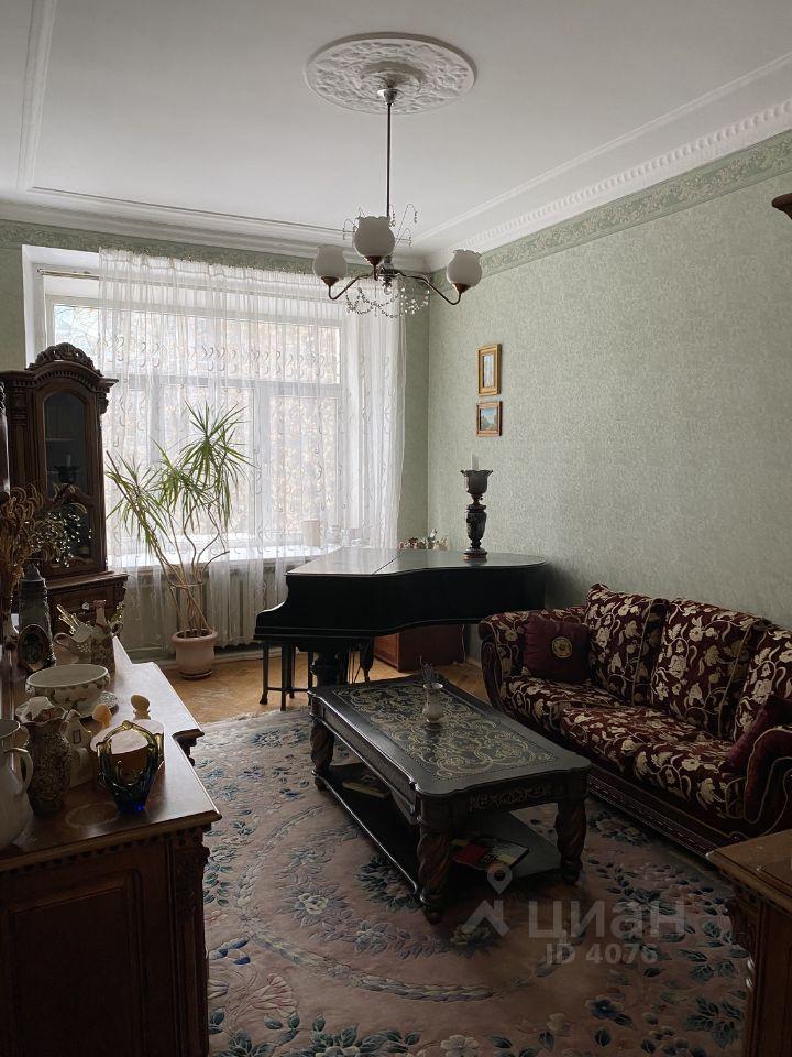 Продаю четырехкомнатную квартиру 126.5м² Смоленский бул., 15, Москва, ЦАО, р-н Хамовники м. Смоленская - база ЦИАН, объявление 251601740