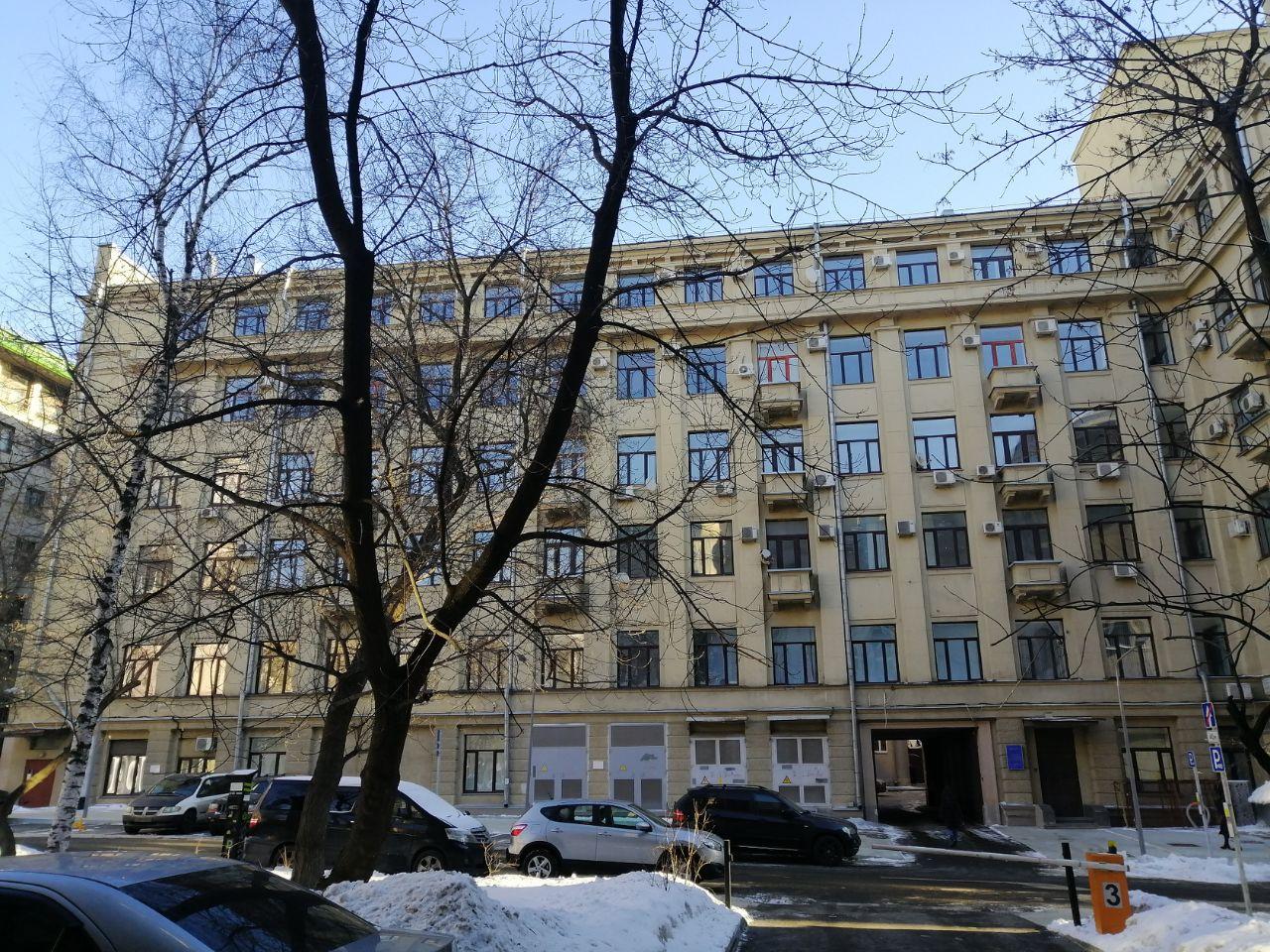 Бизнес Центр в Уланском переулке, 22с1