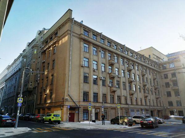 Офисное здание в Уланском переулке, 22с1