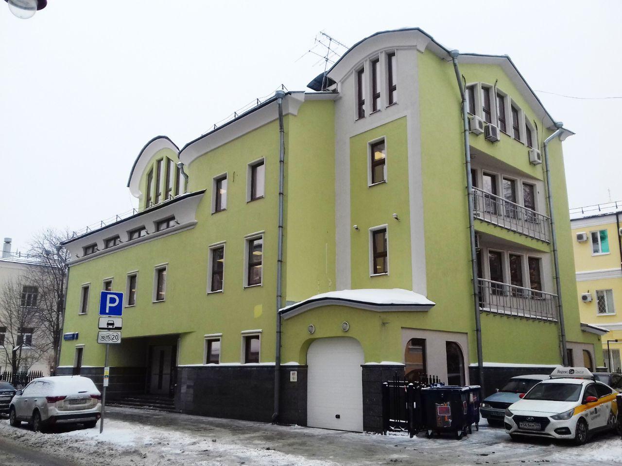 Бизнес Центр в 3-м Кадашёвском переулке, 8