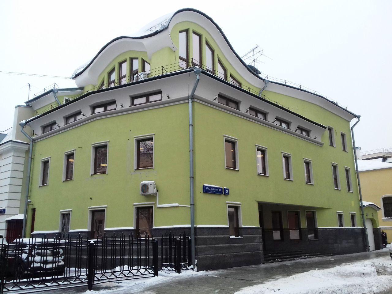 аренда помещений в БЦ в 3-м Кадашёвском переулке, 8