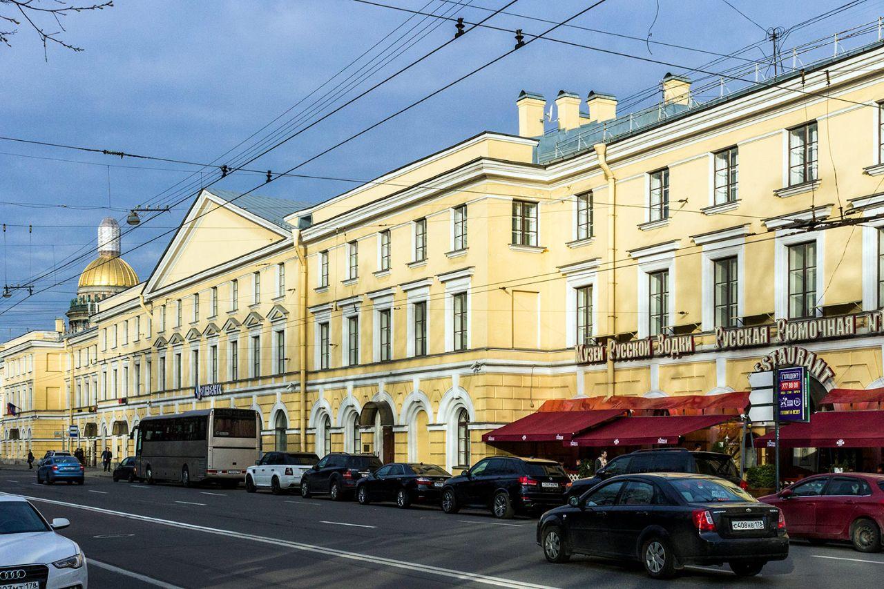 аренда помещений в БЦ Конногвардейский