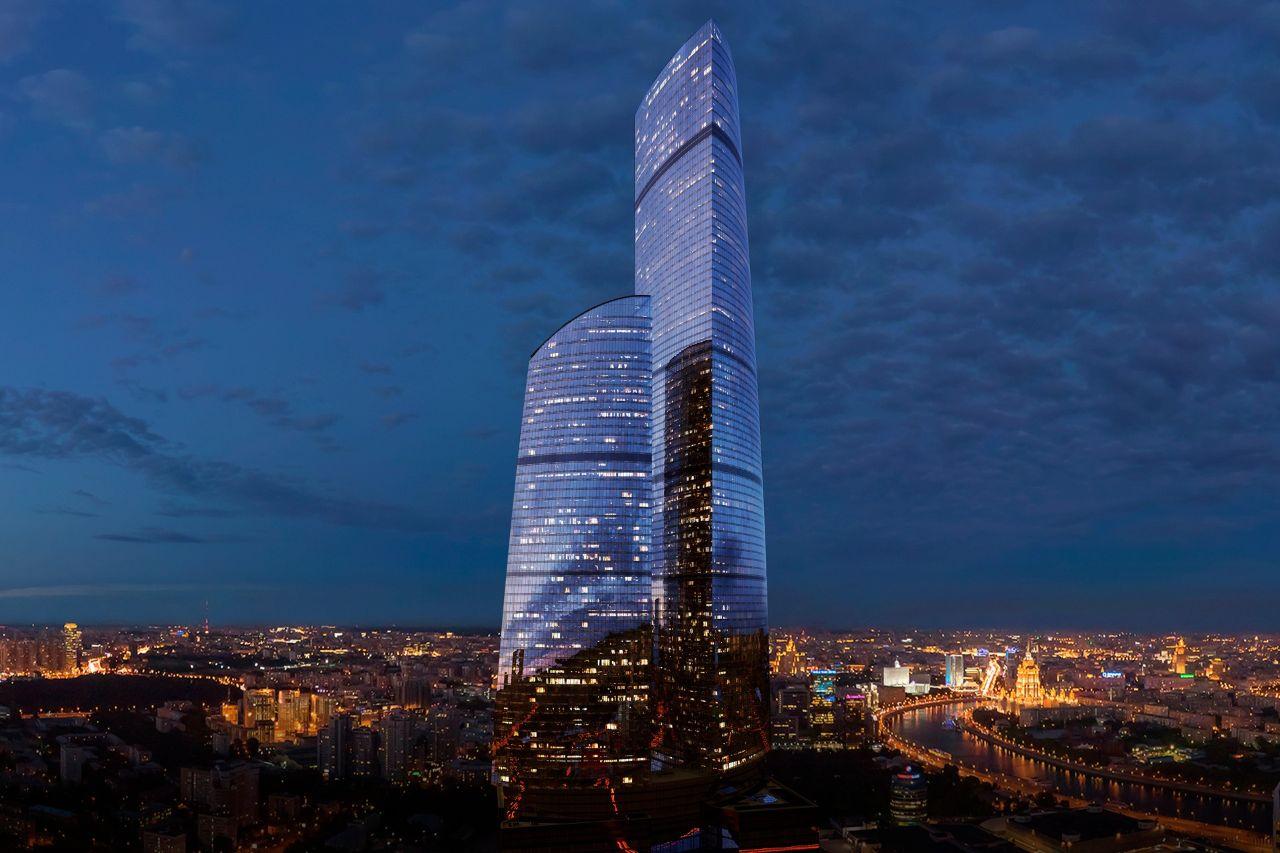 Бизнес Центр Башня Федерация. Москва-Сити (Башня Восток)