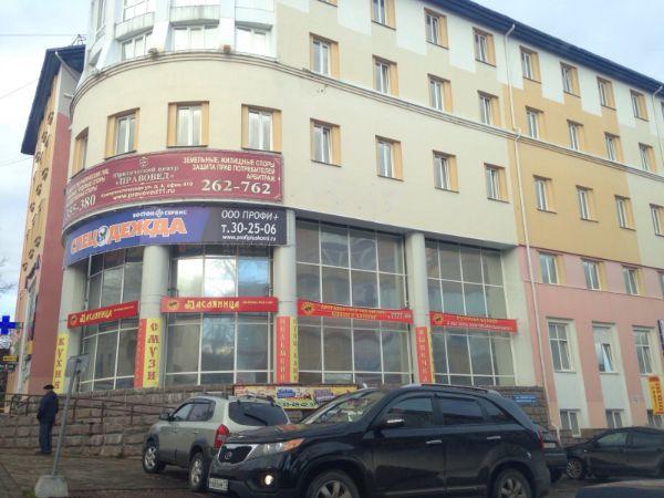 Торгово-офисный комплекс на ул. Коммунистическая, 4