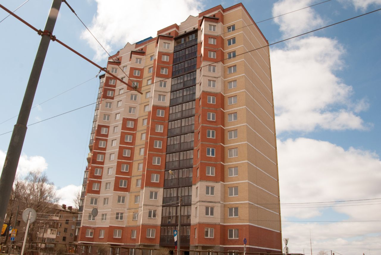 жилой комплекс по ул. Крупской