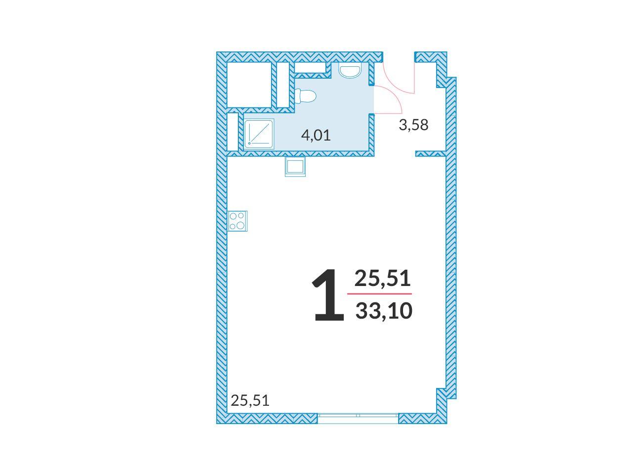 купить квартиру в ЖК Апарт-отель YE'S