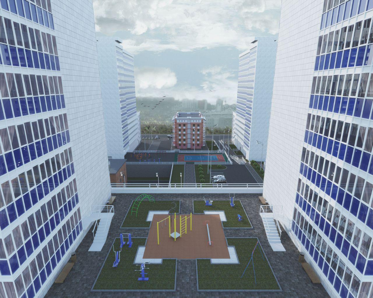 жилой комплекс На Большой Подгорной 87