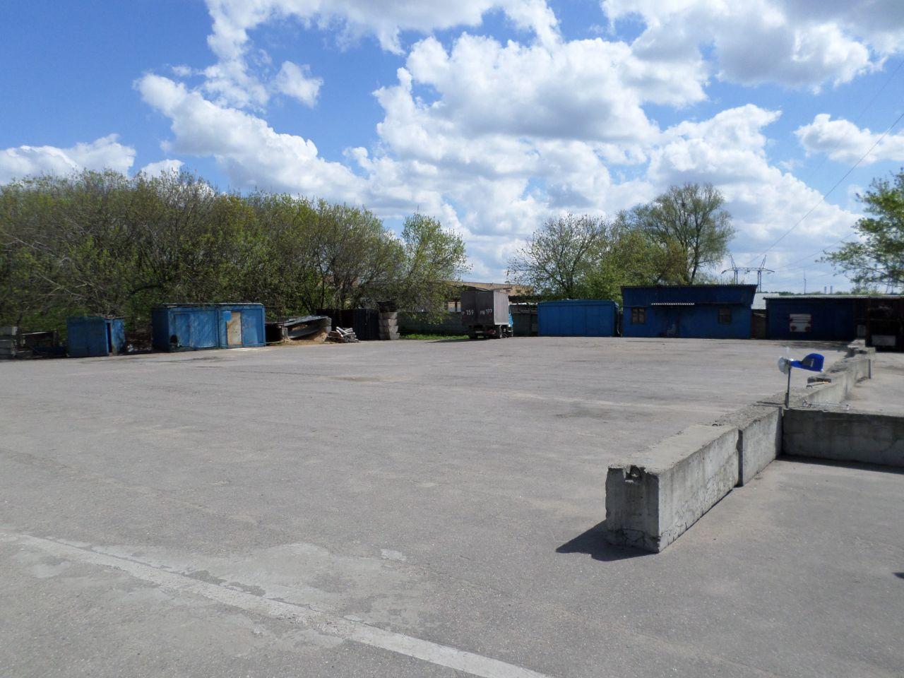 Складском комплексе Мостранссклад