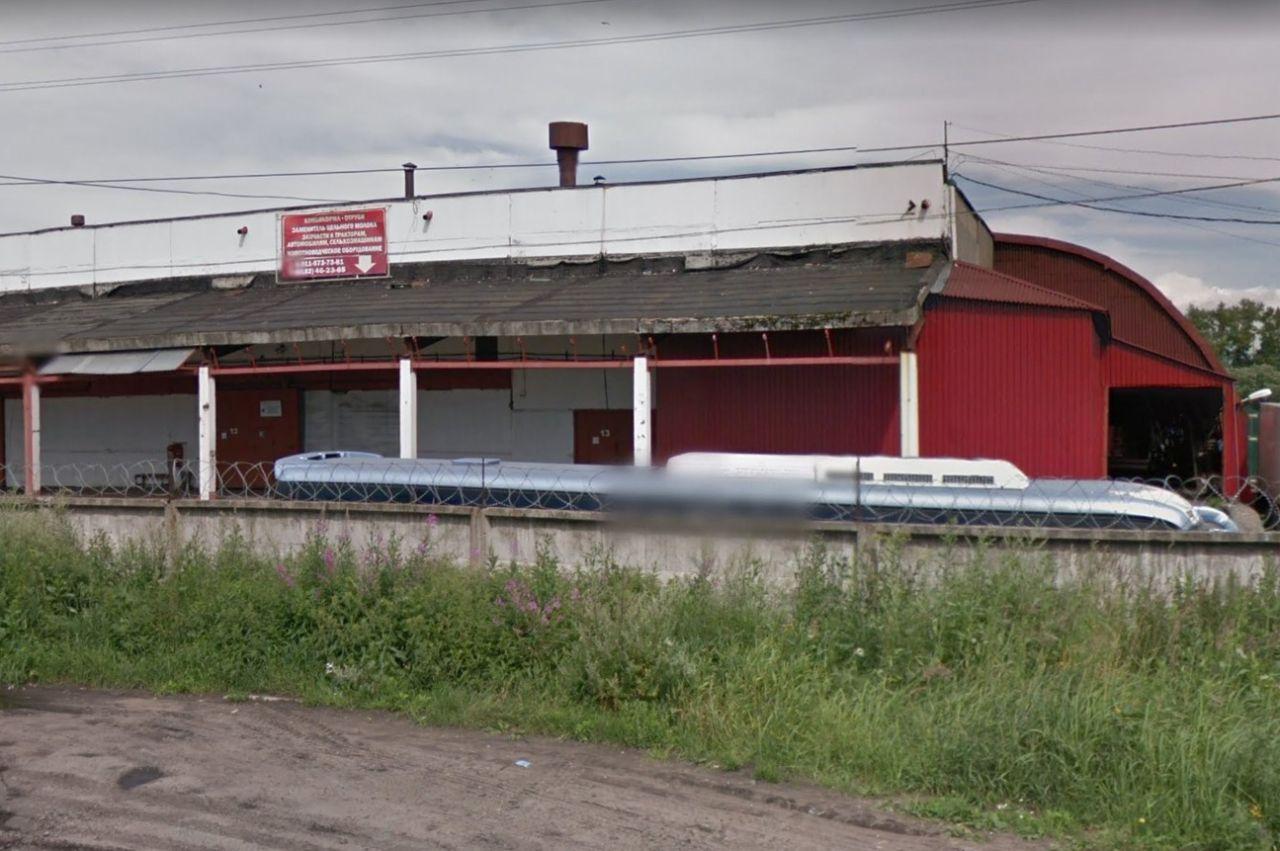 Складском комплексе на Лениградском проспекте, 382к1с1