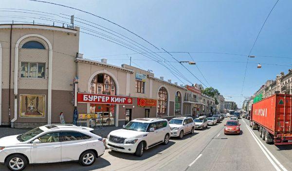 Торгово-офисный комплекс на ул. Светланская, 56