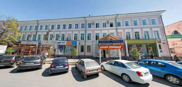 Торгово-офисный комплекс на ул. Гончарова, 30