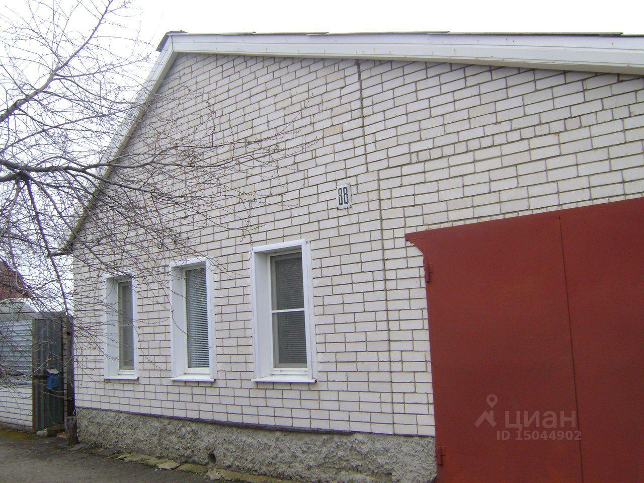 Купить дом 80м² ул. Фридриха Энгельса, Тамбов, Тамбовская область, р-н Ленинский - база ЦИАН, объявление 186042456