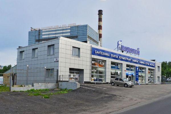 Торгово-складской комплекс на ул. Домостроительная, 30