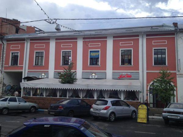 Торгово-офисный комплекс на Нахимсона