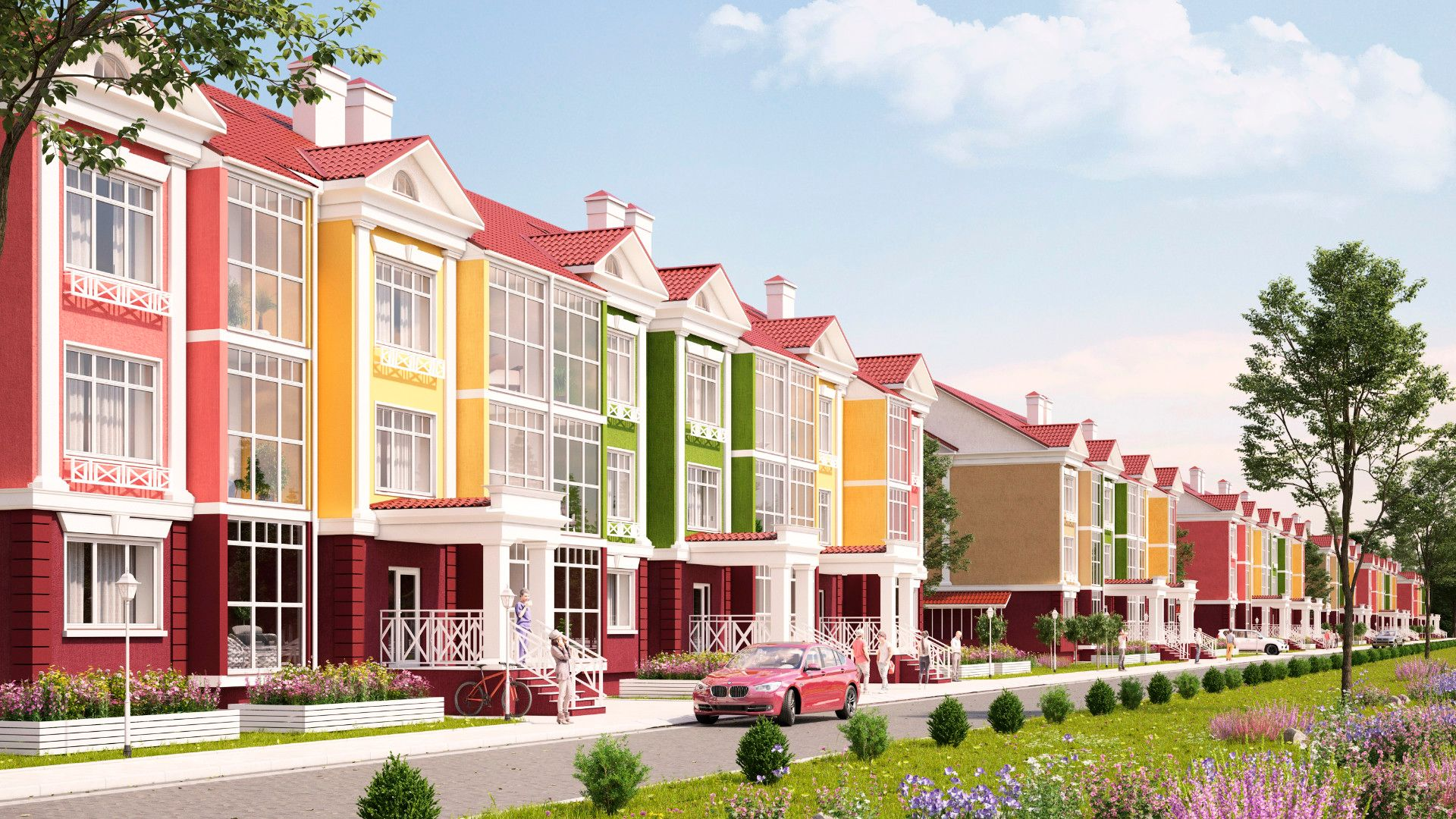 жилой комплекс Бакеево-парк