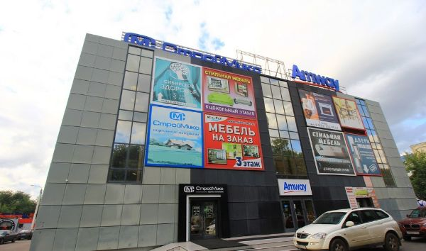 Торгово-офисный комплекс на ул. Ворошилова, 16
