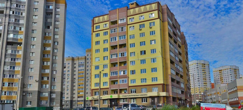 ЖК по ул. Нижняя Дуброва 21Д (Сперанского 17)