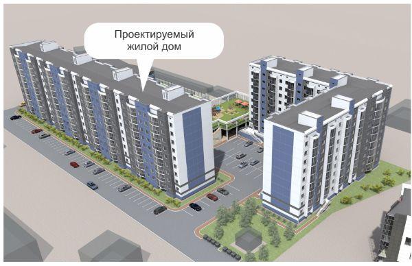 3-я Фотография ЖК «по ул. П.Осипенко»
