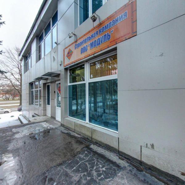 Торгово-офисный комплекс на проспекте Космонавтов, 25