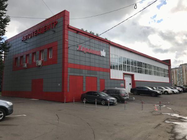Отдельно стоящее здание на ул. Главмосстроя, 7А