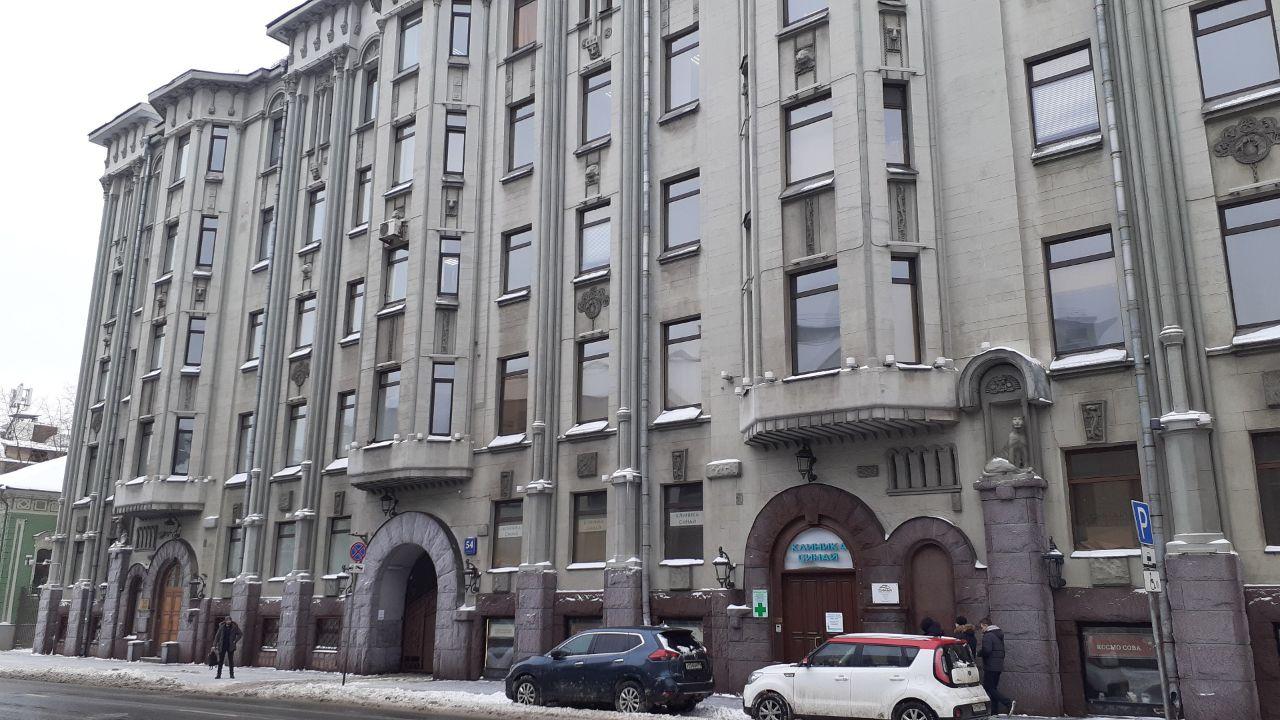 аренда помещений в БЦ на ул. Большая Полянка, 54