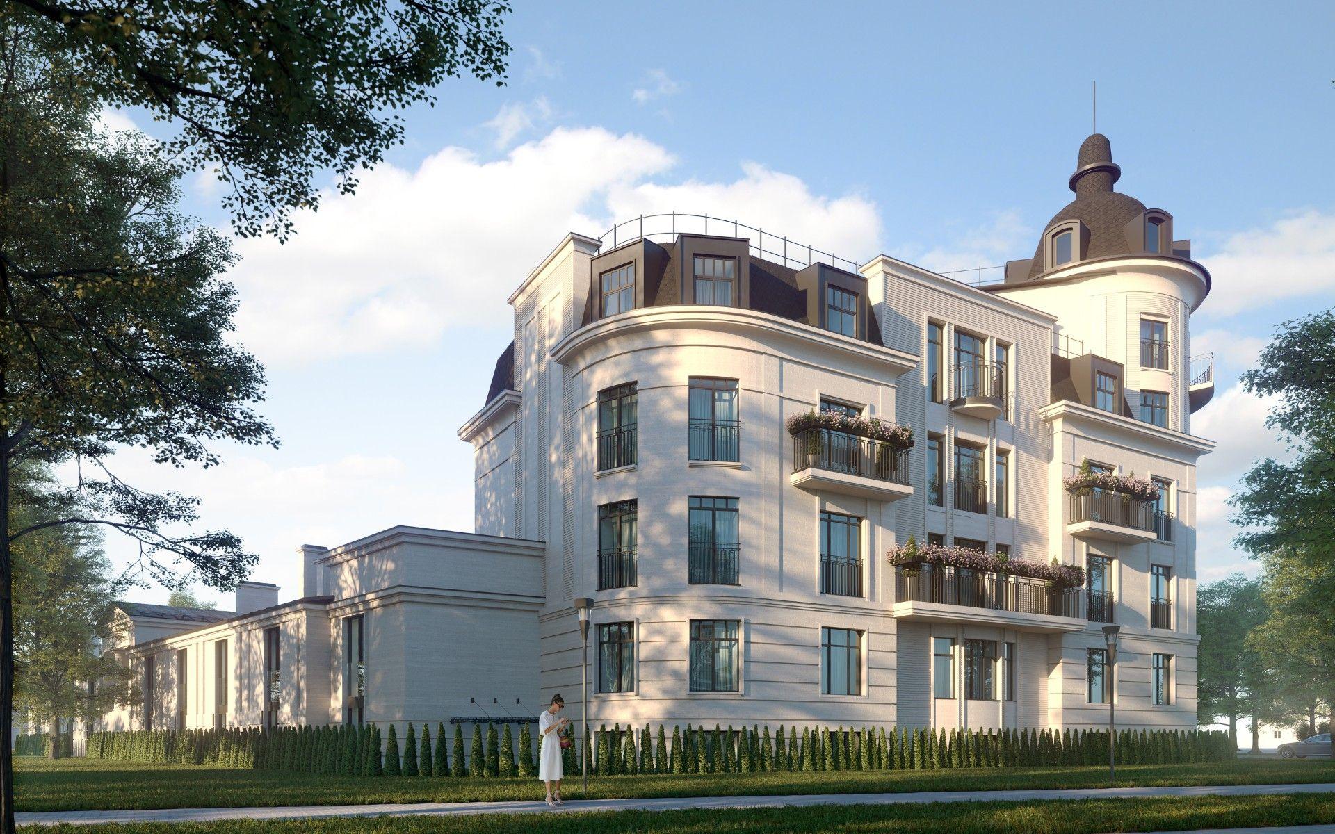 продажа квартир Клубный дом Крестовский IV