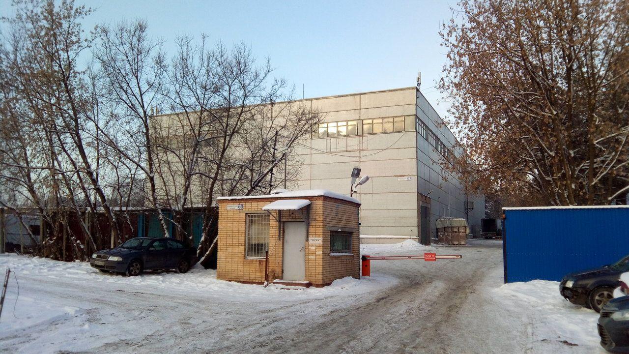 Складском комплексе на ул. Силикатная, 39Ж