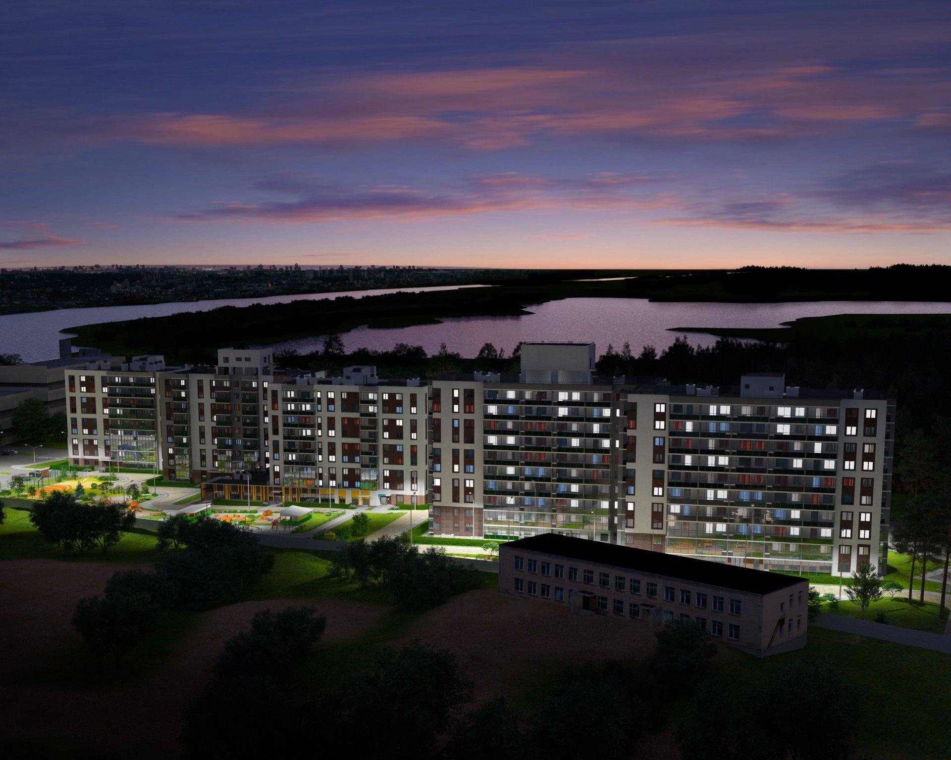 жилой комплекс Финский залив
