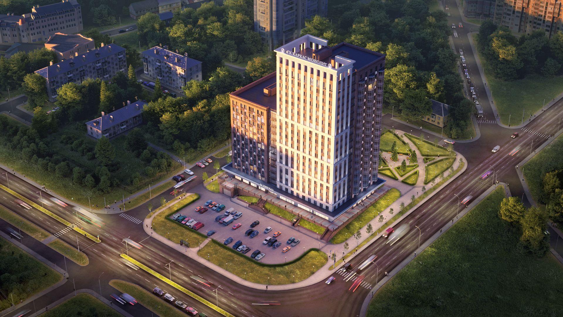 купить квартиру в ЖК Апарт-комплекс KM Tower Plaza (Апарт-комплекс КМ Тауэр Плаза)
