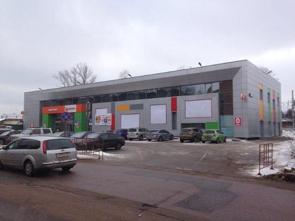 Торговый центр на ул. Крестьянская, 18