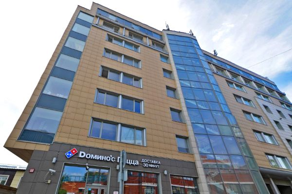 Офисно-гостиничный комплекс на ул. Щипок, 22с1