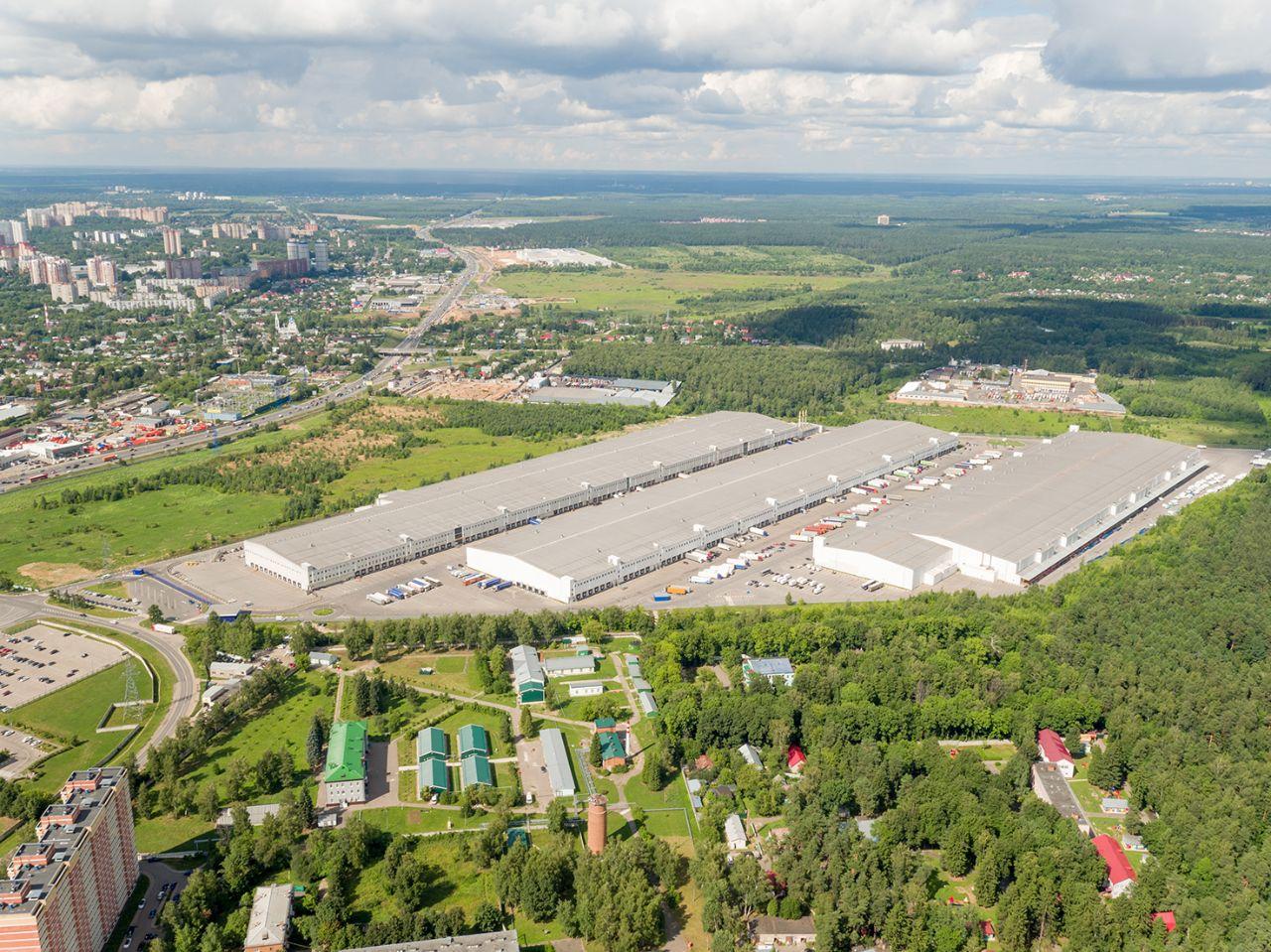 Складском комплексе Пушкино