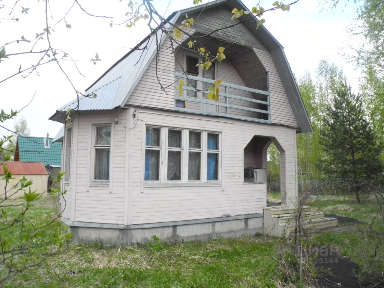 Продажа дома 80м² 1-я линия, Московская область, Богородский городской округ, Чайка СНТ - база ЦИАН, объявление 206000611