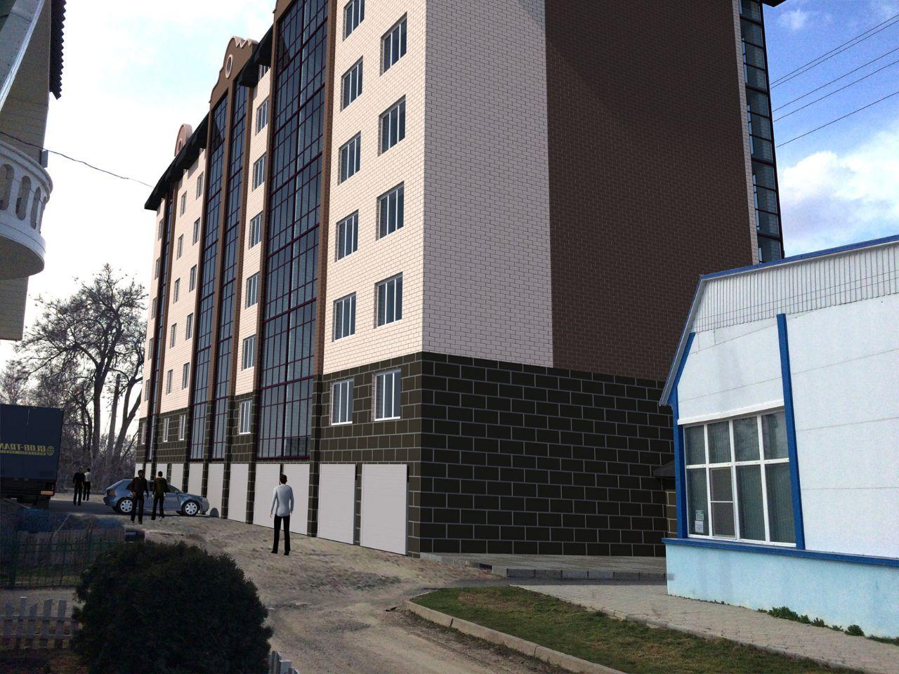 жилой комплекс По ул.Братьев Алехиных 34