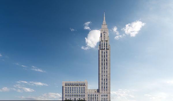 3-я Фотография ЖК «Комплекс апартаментов Alcon Tower (Алкон Тауэр)»