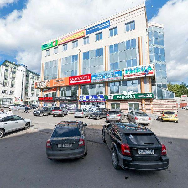 Многофункциональный комплекс на ул. Гайдара, 55
