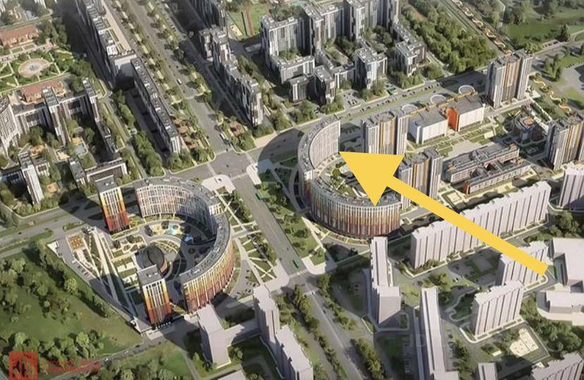 Продажа трехкомнатной квартиры 73.9м² Комендантский просп., Санкт-Петербург, р-н Приморский, Коломяги м. Комендантский проспект - база ЦИАН, объявление 232149625