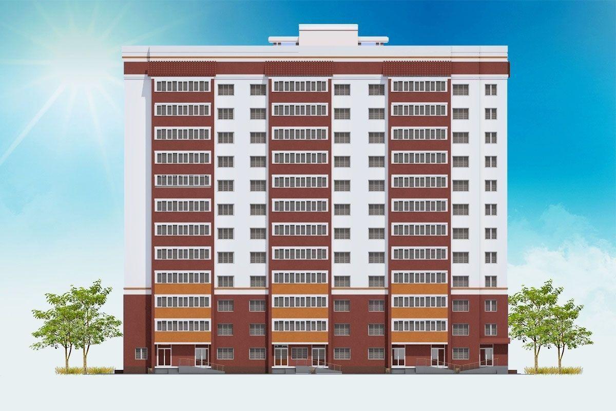 жилой комплекс по ул. Молодой Гвардии