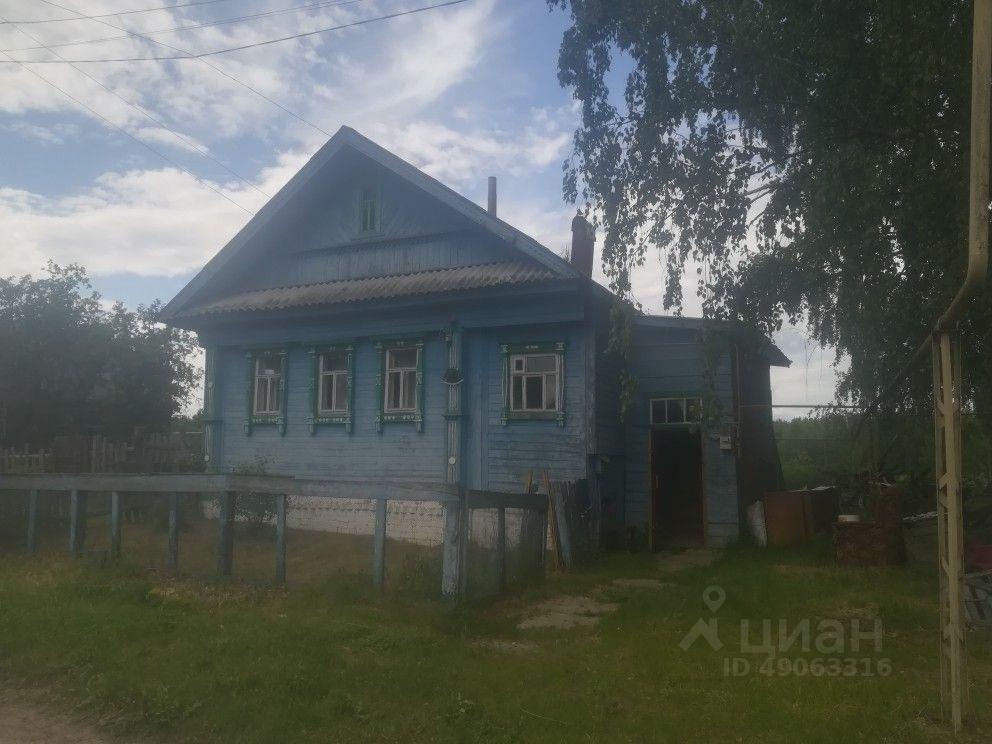 Продажа дома 40м² Нижегородская область, Бор городской округ, Колобово деревня - база ЦИАН, объявление 238394266