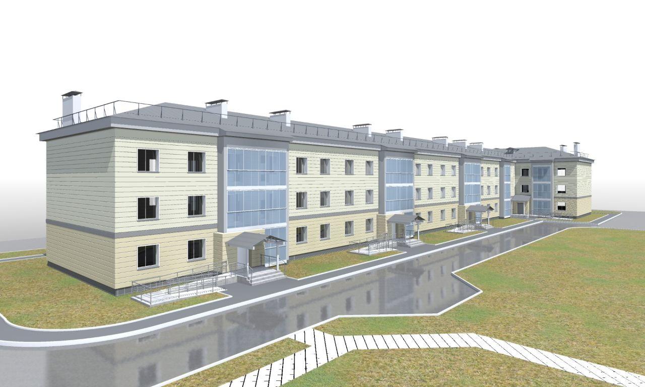 жилой комплекс Жилые дома в п. Пионерный