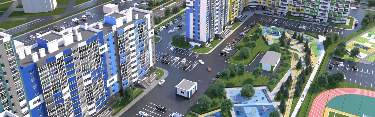 жилой комплекс Оригами