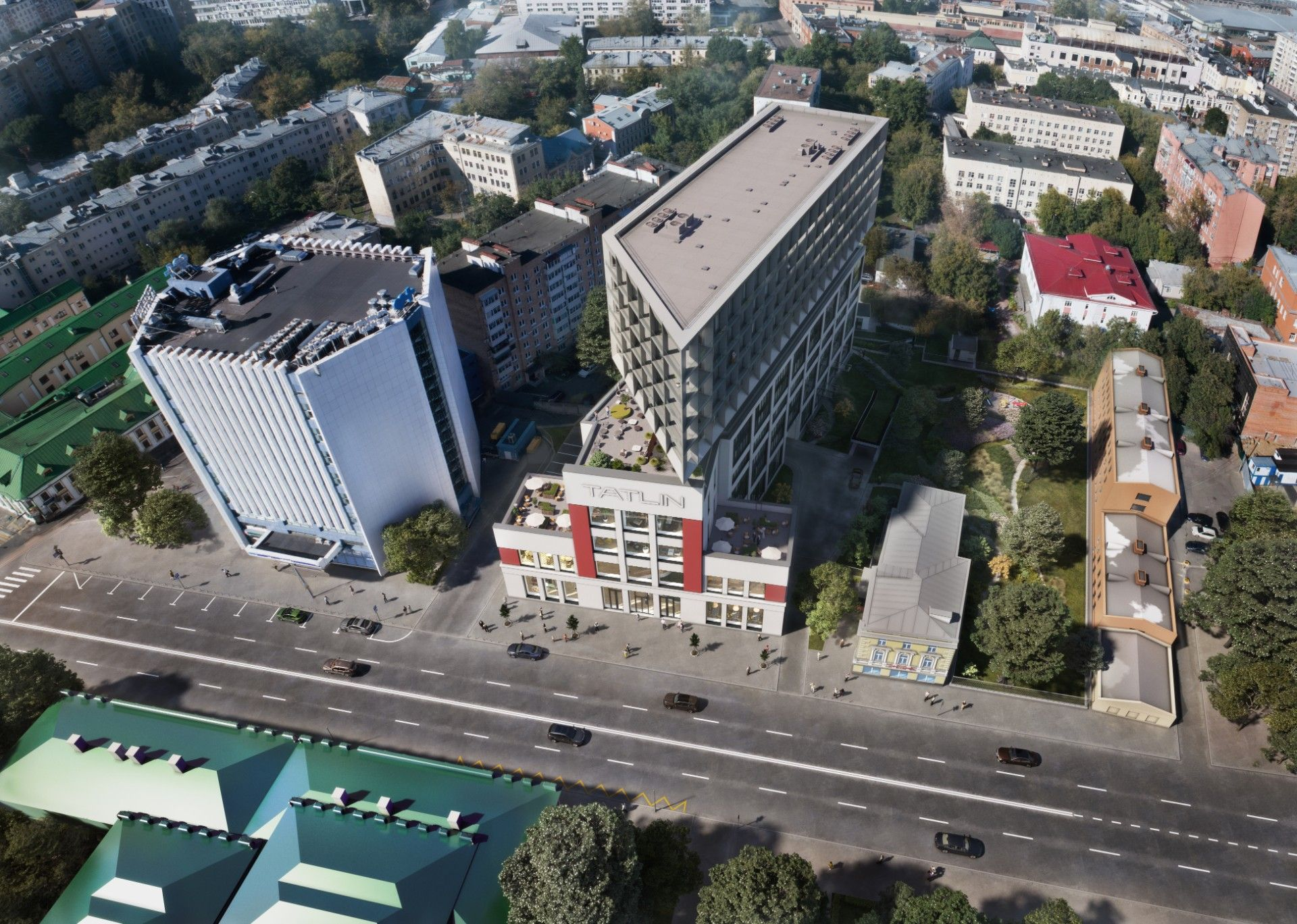 жилой комплекс Tatlin Apartments (Татлин Апартментс)