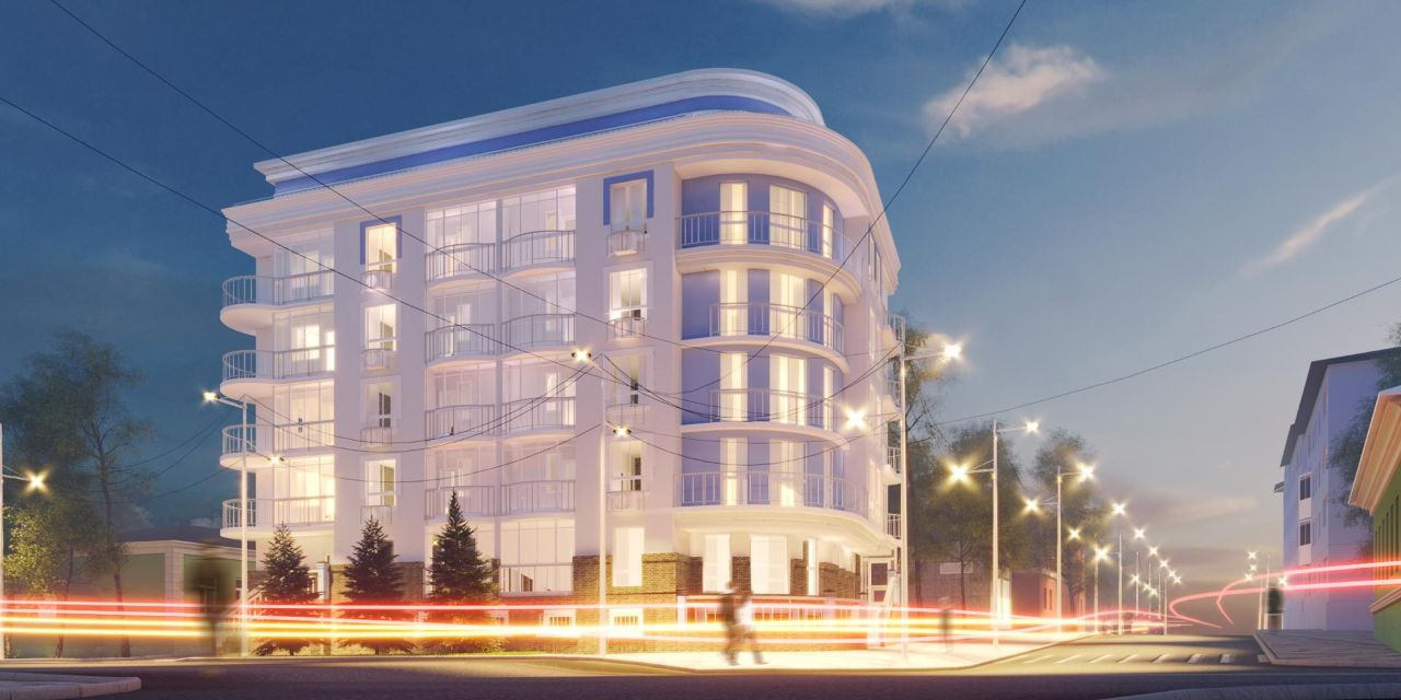 жилой комплекс Клубный дом на Луначарского