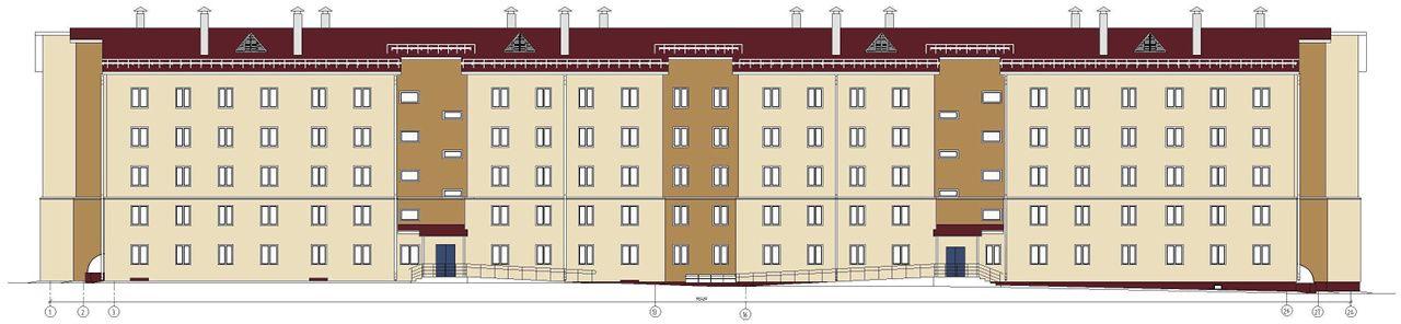 жилой комплекс 11 микрорайон, позиция 4
