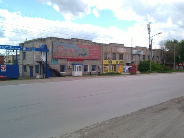 Офисно-производственный комплекс на ул. Омская, 140с1