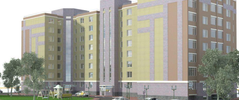 жилой комплекс по ул. Зои Космодемьянской