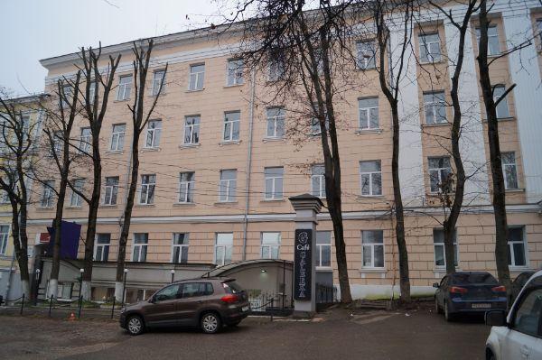 Офисное здание в Пушкинском проезде, 4А
