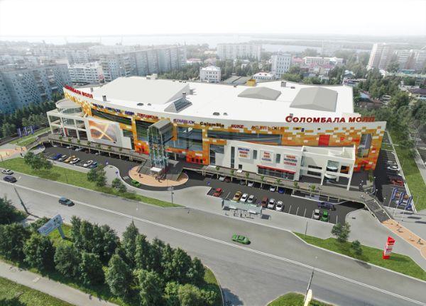 Торгово-развлекательный центр Соломбала Молл
